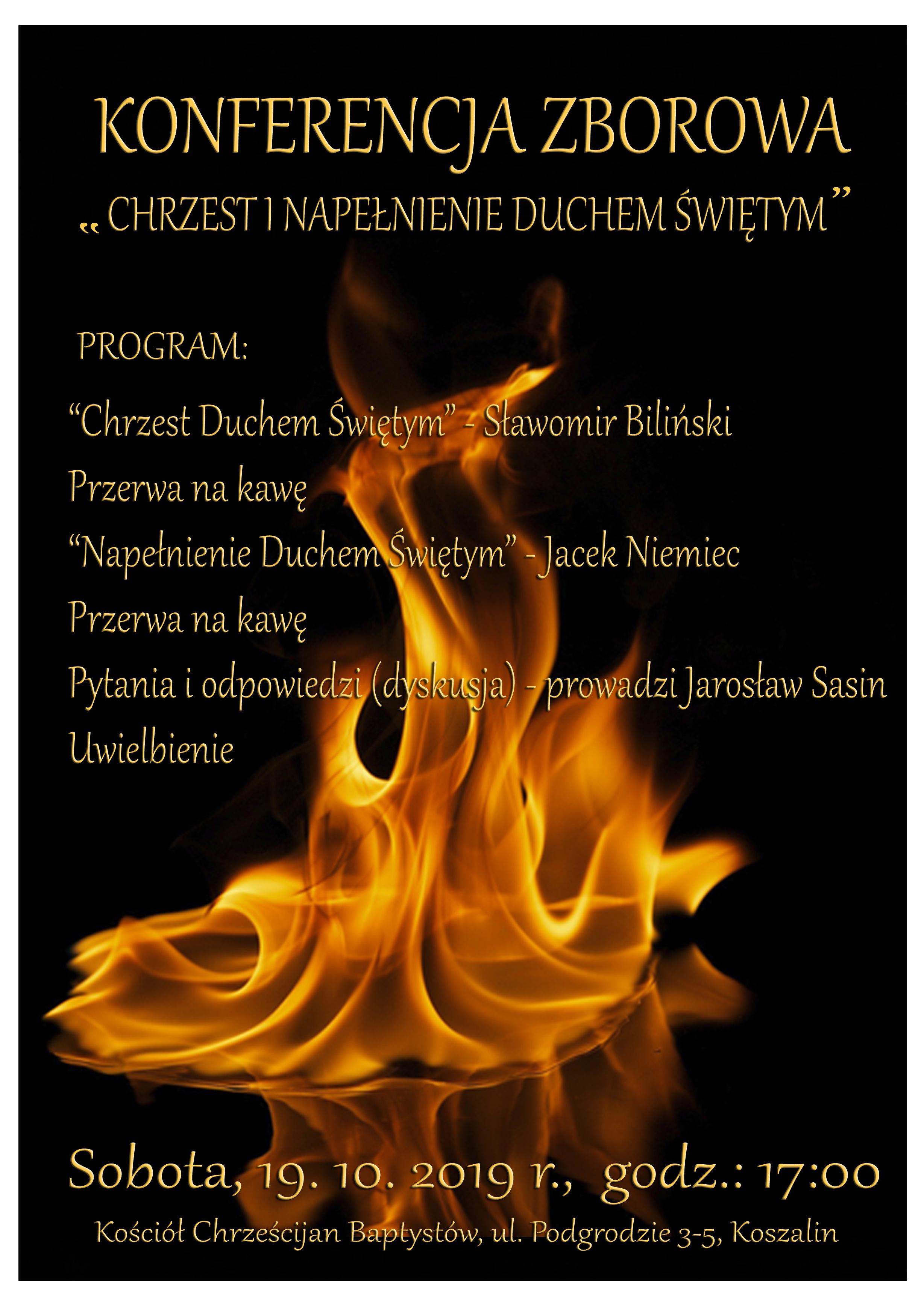 Wykłady z konferencji o Duchu Świętym